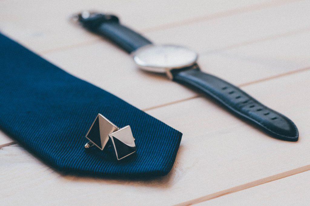 Krawat i spinki